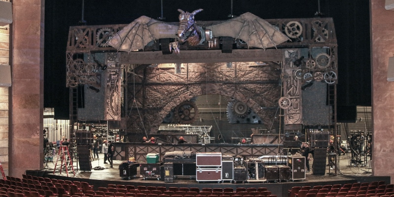 Wicked Load-In. Photo by John Moore