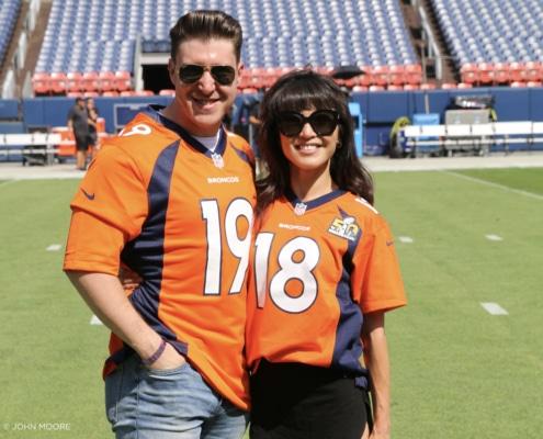 Miss Saigon. Matthew Dailey. Rael Leigh Case. Denver Broncos. National Anthem. Photo by John Moore.