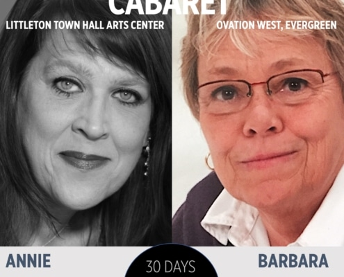 30 Plays 30 Days. Cabaret. Town Hall Arts Center and Ovation West. Annie Dwyer and Barbara Porreca