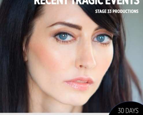 30 Days 30 Plays, Recent Tragic Events, Christy Kruzick,