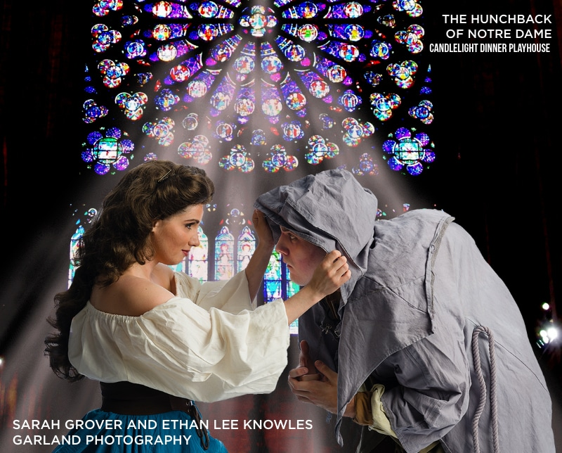 Hunchback OF NOTRE DAME. CANDLEIGHT DINNER PLAYHOUSE. GARLAND PHOTOGRAPHY