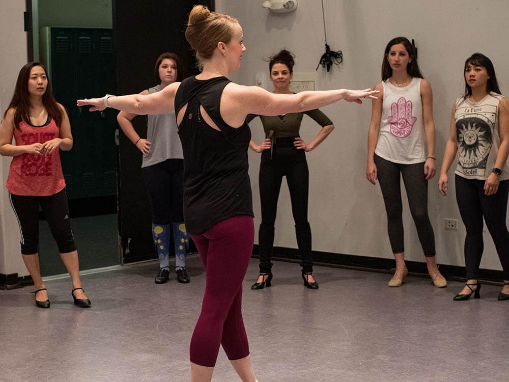 Musical Theatre Audition Intensive Dance Call