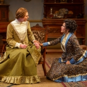 Anastasia Davidson and Marianna McClellan in A DOLL'S HOUSE_Photo by Adams VisCom