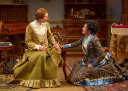 Anastasia Davidson and Marianna McClellan in A DOLL'S HOUSE_Photo by Adams VisCom