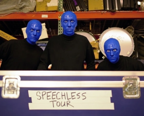 BLUE MAN GROUP SPEECHLESS TOUR