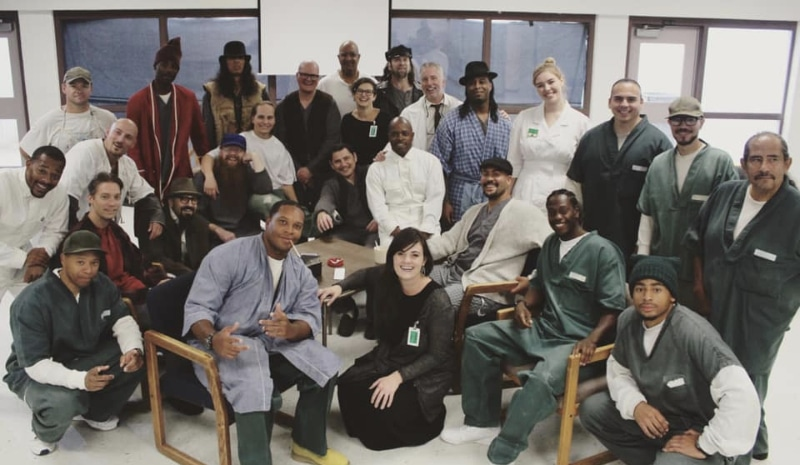 Cast and crew of 'One Flew Over the Cukoo's Nest.' DU Prison Arts Initiative.