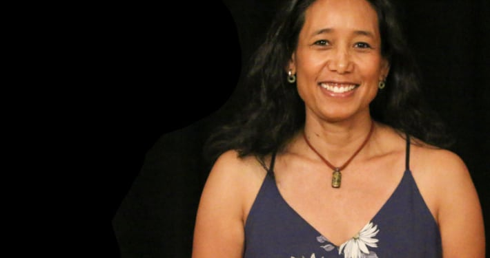 Joie N. Lê photo by John Moore. Miss Saigon