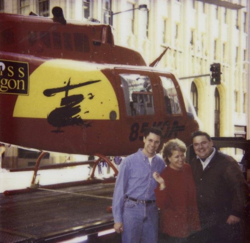 Miss Saigon KOA Helicopter 1996