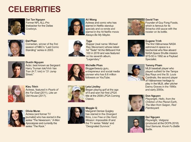 Asian American celebrities. Miss Saigon