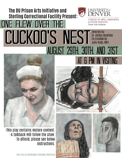 One Flew Over the Cuckoo's Nest, DU Prison Arts Initiative.