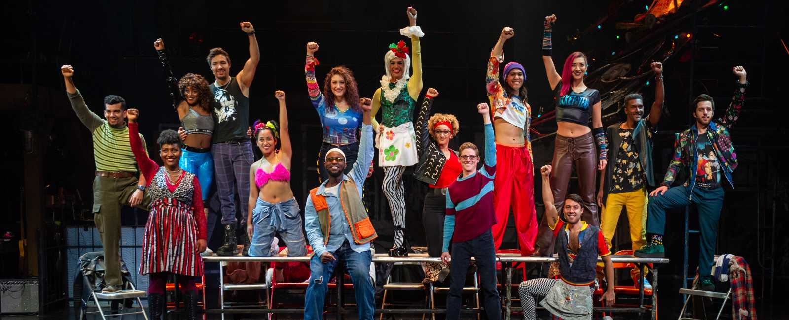 The Company of the RENT 20th Anniversary Tour RENT 20th Anniversary Tour, Credit Amy Boyle 2019