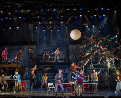 The Company of the RENT 20th Anniversary Tour RENT 20th Anniversary Tour, Credit Amy Boyle 2019.