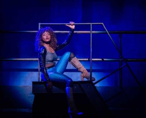 Aiyana Smash RENT 20th Anniversary Tour, Credit Amy Boyle 2019.