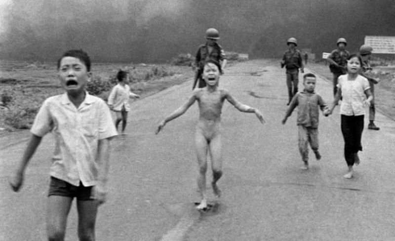 Vietnam Napalm Girl by Denise Chong