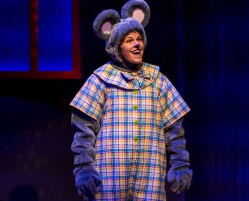 Susannah McLeod as Mouse in GOODNIGHT MOON_Photo by Adams VisCom