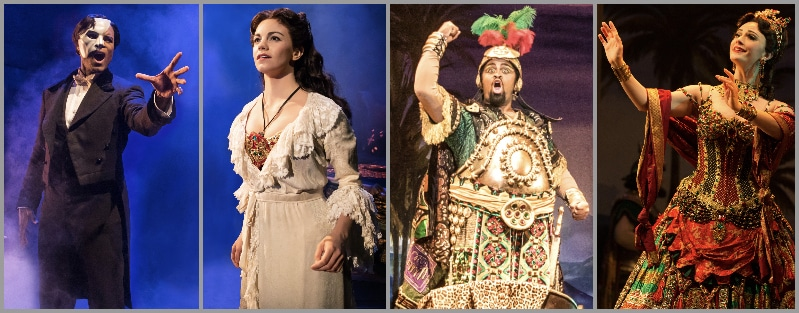 2 Phantom of the Opera costume sketches