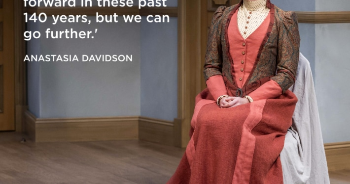 Anastasia Davidson as Emmy in A DOLL'S HOUSE, PART 2_Photo by Adams VisCom