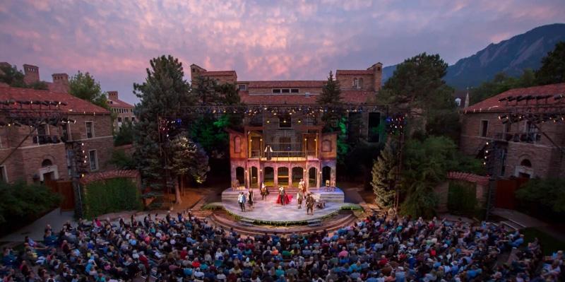 Colorado Shakespeare Festival. Photo by Zachary Andrews