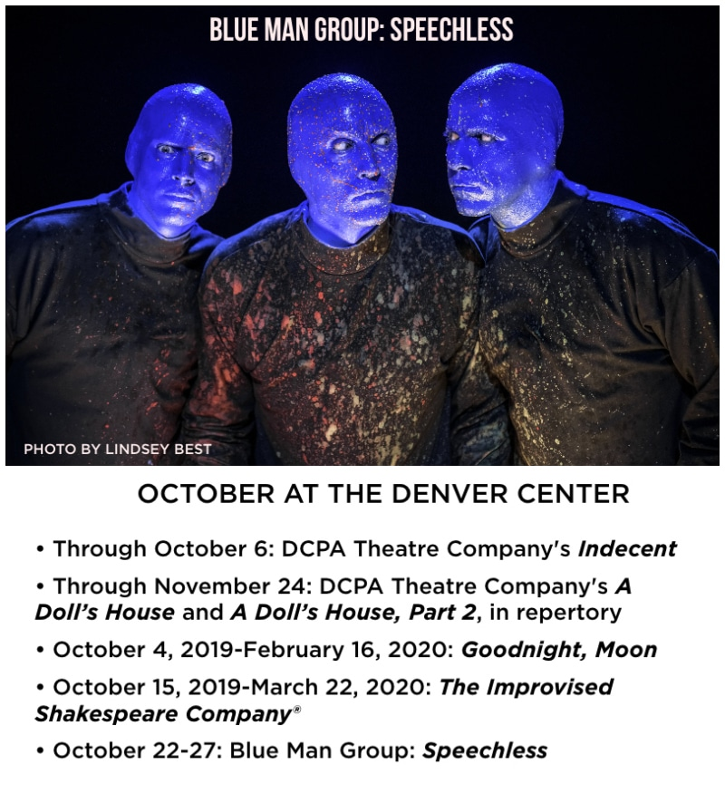 DCPA Theatre October 2019