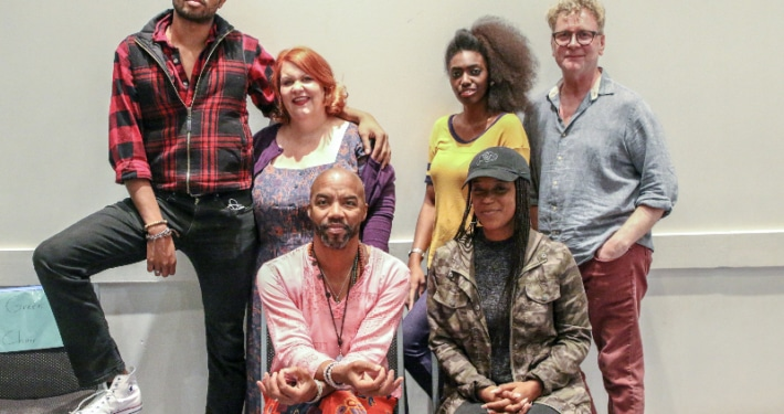 Flame Broiled cast anc creative team.