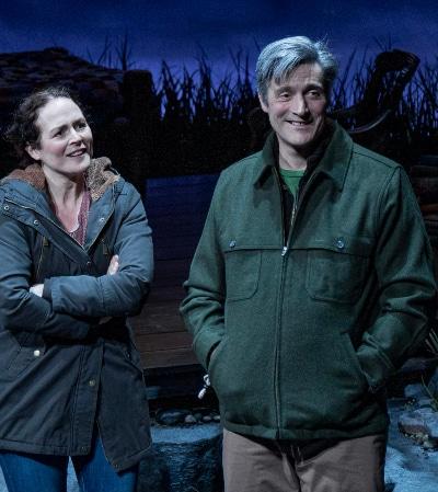 Gareth Saxe, shown with Tara Falk in 'Yuo Lost Me' through March 1, will star in Colorado Shakespeare Festival's Coriolanus.' Photo by AdamsVisCom.