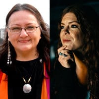 Suzan Shown Harjo and Mary Kathryn Nagle