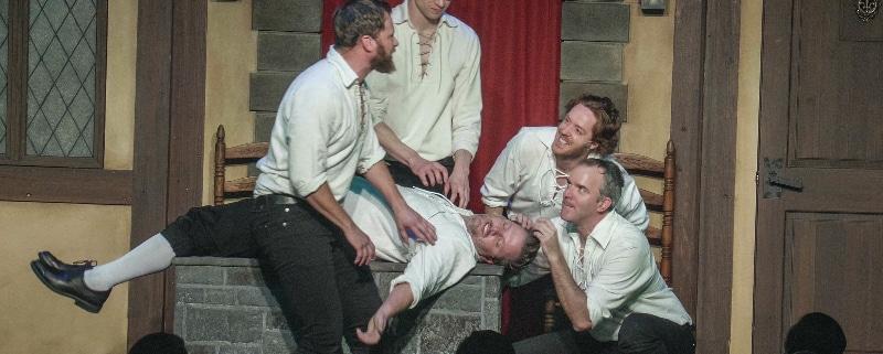 Improvised Shakespeare Photo by David Lenk.