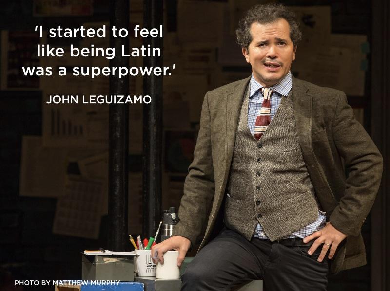 John Leguizamo in LATIN HISTORY FOR MORONS, Photo by Matthew Murphy, 2017