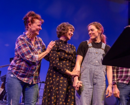 Leslie Alexander, Neyla Pekarek and Mary Kate Morrissey. Photo by Adams VisCom.