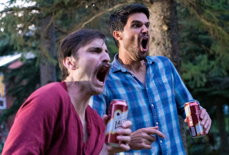 'Man Camp' is a slapstick comedy from Colorado director Nate James Bakke that features Daniel Cummings and Pete Gardner.