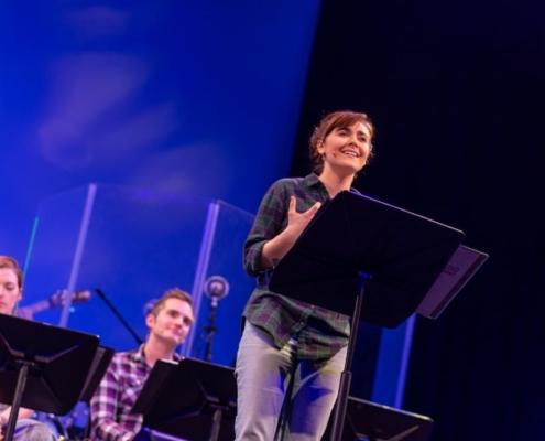 Mary Kate Morrissey, Brian Cronan and Sara Masterson. Photo by Adams VisCom.