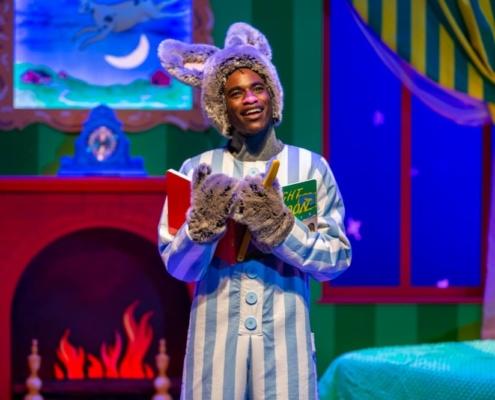 Rakeem Lawrence as Bunny in GOODNIGHT MOON_Photo by Adams VisCom