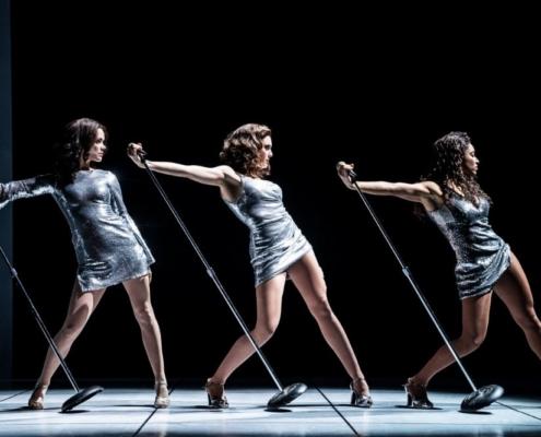 Katherine Roarty, Brooke Lacy, Tamrin Goldberg, First National Tour of SUMMER: The Donna Summer Musical © Matthew Murphy for MurphyMade