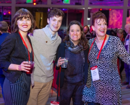 Sara Masterson, Kurt Hellerich, Karen Hartman and Leslie Alexander. Photo by Adams VisCom.