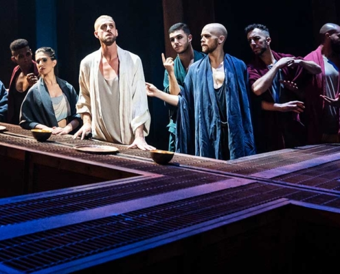 The company of the North American Tour of JESUS CHRIST SUPERSTAR - Photo by Matthew Murphy