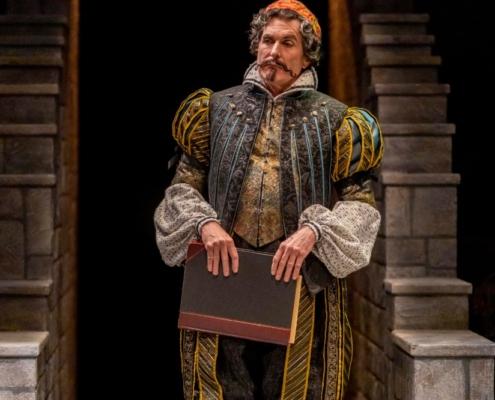 Sam Gregory as Malvolio in TWELFTH NIGHT_ Photos by Adams VisCom
