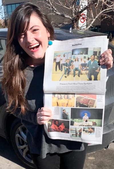 Dr. Ashley Hamilton was understandably stoked to see this photo spread about her program in 'The New York Times.'