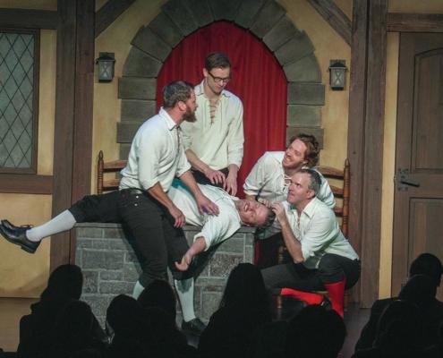Blain Swen, Ross Bryant, Randall Harr, Josh Logan, Brendan Dowling - photo by Dave Lenk