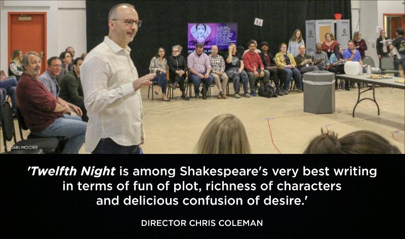 Twelfth Night Chris Coleman quote