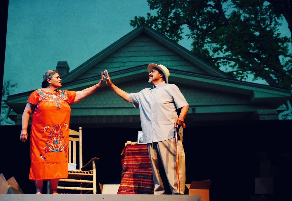 Yolanda Ortega and Angel Mendez Soto in Su Teatro's 'Northside'