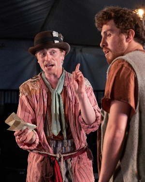 Colton Pratt in 'Measure for Measure.' Photo by Jeff Kearney.