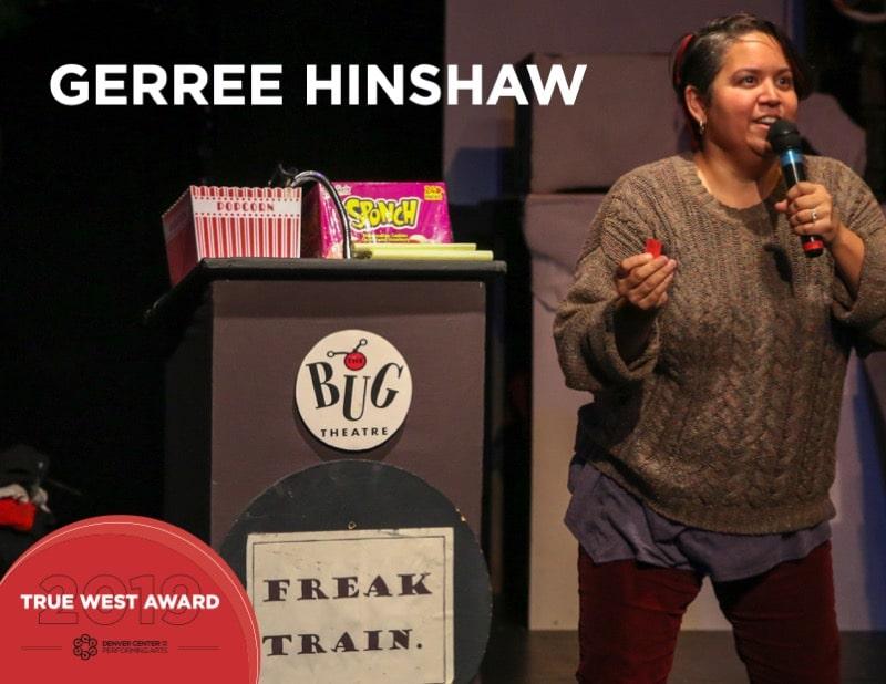 2019 True West Awards GerRee Hinshaw. Freak Train. Photo by John Moore