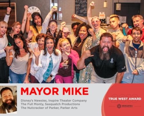 2019 True West Awards Mayor Mike Waid.