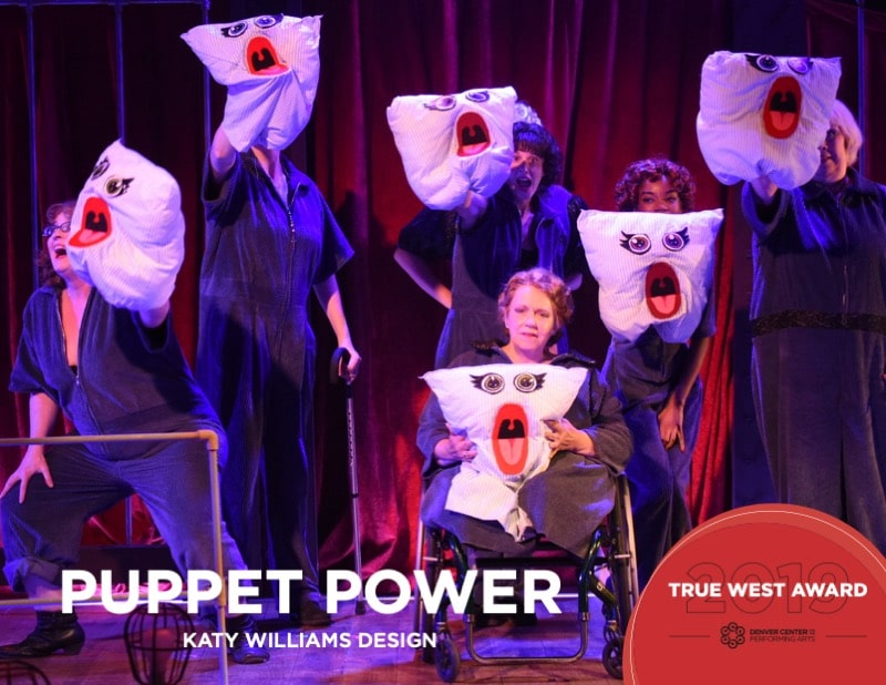 2019 True West Award Katy Williams Puppetry. Photo by Michael Ensminger.