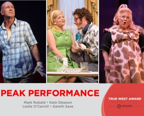 2019 True West Awards Mark Rubald, Kate Gleason, Gareth Saxe and Leslie O'Carroll
