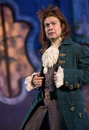 Rodney Lizcano in Twelfth Night for Colorado Shakespeare Festival. Photo by Jennifer M. Koskinen.