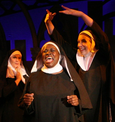 Sheryl Renee in 'Sister Act.' Photo by Gary Duff