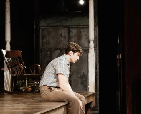 Nick Robinson in To Kill a Mockingbird. Photo by Julieta Cervantes.
