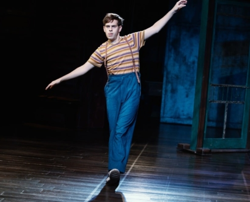 Taylor Trensch in To Kill a Mockingbird. Photo by Julieta Cervantes.
