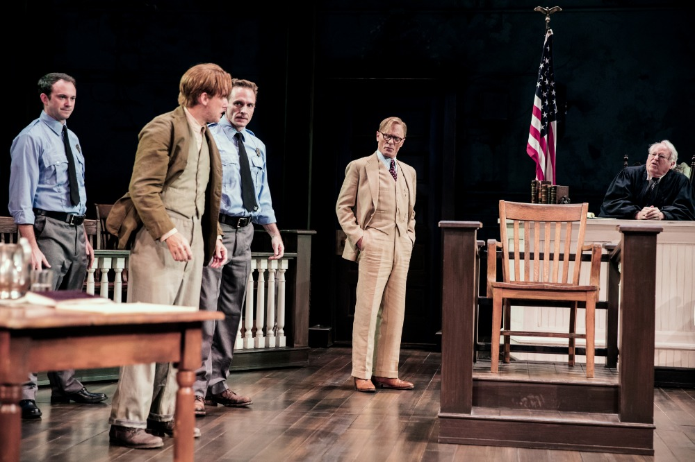 The cast of To Kill a Mockingbird. Photo by Julieta Cervantes.
